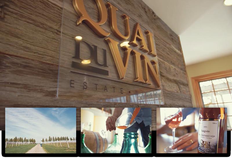 Quai Du Vin Estate Winery & Vineyard-45811 Fruit Ridge Line